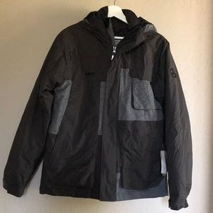 Columbia youth hood down jacket in size 18/20